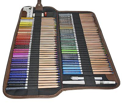 JNW Direct Watercolor Pencils, Best Water Soluble Colored Pencil Set 72