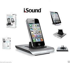 iSound Power Charging and Display Dock for iPhone iPad iPod 2 Apple Products USB