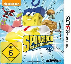 Spongebob Schwammkopf: Helden Schwamm - Nintendo 3DS - Neu / OVP
