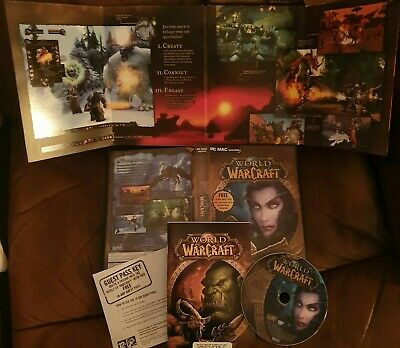 World of Warcraft PC MAC CD-ROM GAMES for sale  Shipping to Nigeria