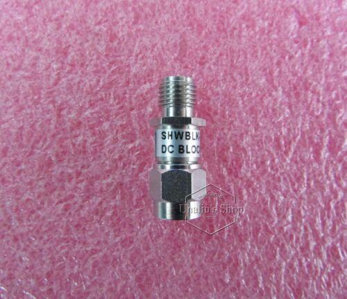 SHWBLK-6-SMA/MF 10MHz-6GHz 50V SMA DC blocking device RF isolation device