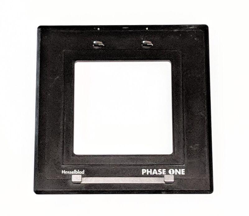 Phase one flex adapter insert hasselblad V mount MFD medium format back 70780003