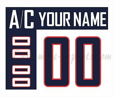 IIHF SOCHI Olympic Hockey USA Customized Number Kit for 2014 White Jersey (Usa Hockey Jersey 2014)
