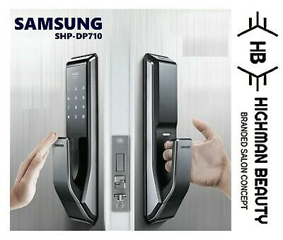SAMSUNG SHP-DP710 Or P710 Key Less PUSH PULL Digital Smart Door Lock