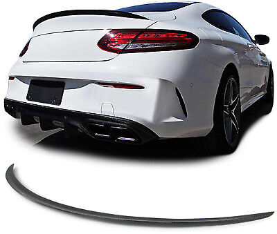 Echt Carbon Heckspoiler Sport Ausführung für Mercedes C-Klasse Coupe C205 ab15