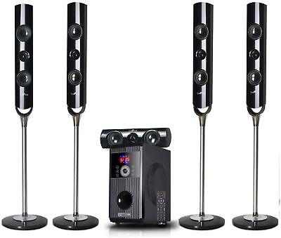 Bluetooth Surround Sound System Home Theater Speaker Set 5.1 Channel BeFree