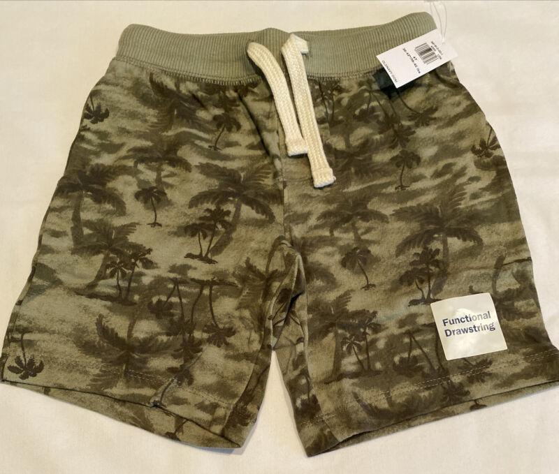 Old Navy Toddler NWT Green Drawstring Shorts size 4T