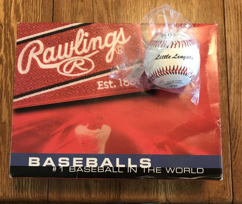 Little League Baseballs, Rawlings, New in box.