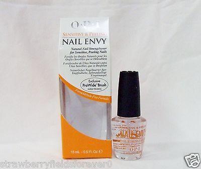 OPI Nail Treatment Strengthener Hardener ENVY Sensitive & and Peeling .5oz15ml