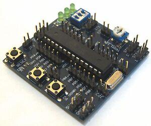 Demoboard Atmel AVR ATMEGA8 (MCU usato in ARDUINO NG) , programmabile con USBAsp - Albiano d'Ivrea, Italia - Demoboard Atmel AVR ATMEGA8 (MCU usato in ARDUINO NG) , programmabile con USBAsp - Albiano d'Ivrea, Italia