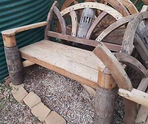 Hardwood Bench Seat Forestdale Logan Area Preview