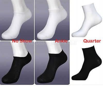 Mens Womens Sport Socks Pairs Lot No Show Size 9-11 Style Crew Ankle Low Cut New