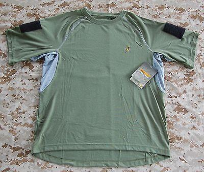 OD Ironclad Dri-T Shirt Custom Sleeves L NSWDG DEVGRU SEAL NSW