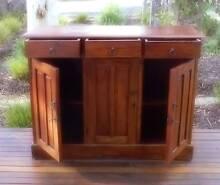 Solid Timber 3 Door Dresser / Buffet / Sideboard Blackwood Mitcham Area Preview