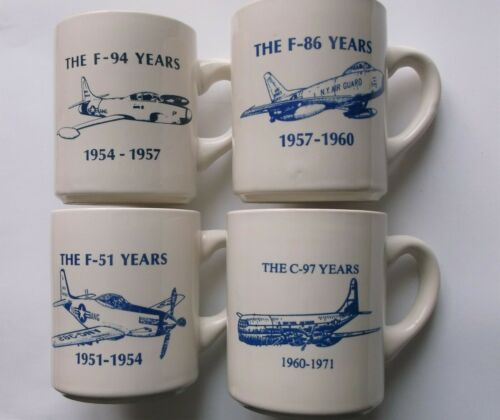 AIR GUARD 109th TACTICAL AIRLIFT GROUP SCHENECTADY NY C-97 F-94 F-86 Coffee Mugs
