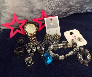 NEW and used assorted jewellery