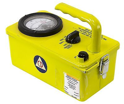 Geiger Counter / Radiation Survey Meter Victoreen 715 Vintage Cold-War History