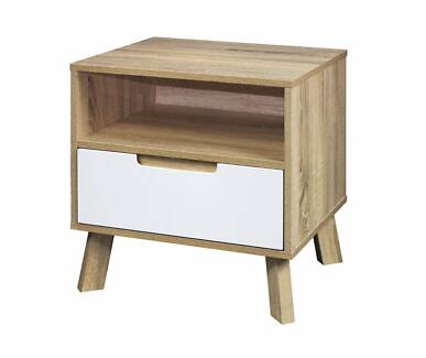 MOCKA CHELSEA BEDSIDE - ALREADY ASSEMBLED - SHOWROOM
