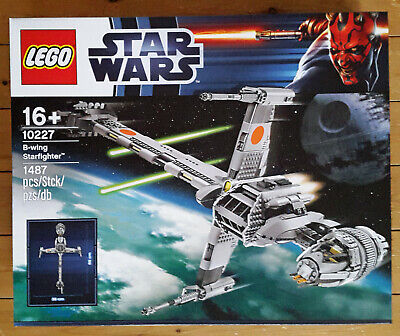 LEGO Star Wars - 10227 B-Wing Starfighter UCS (Now Retired) - New in Sealed Box