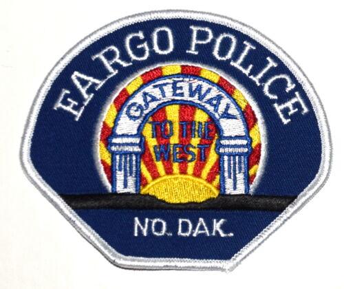 FARGO NORTH DAKOTA ND Sheriff Police Patch GATEWAY TO THE WEST VINTAGE OLD MESH