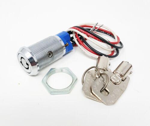 CompX Chicago Tubular Key Switch Lock 4235 1 Key Pull Keyed Differently