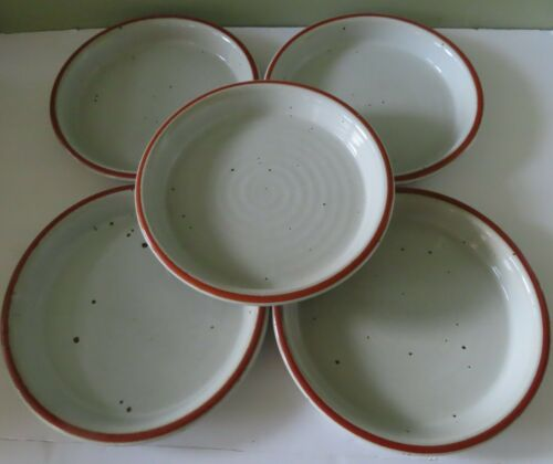 "5 Dansk BLT Rustone Niels Refsgaard 9 5/8"" Dinner Plates"