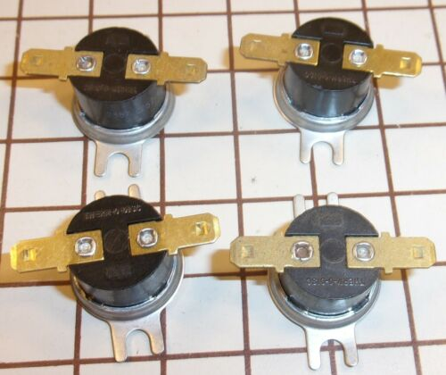 Lot of 4 THERM-O-DISC 36TX21 2387 L257-41 A8210,Temperature Control Switches