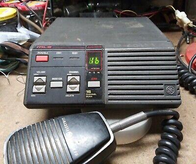 Ge 42-50 Mhz 6 Meter Mls Ii 16 Ch. Mobile 2-way Radio Free Programming