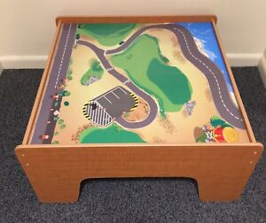Wooden Car Play Table