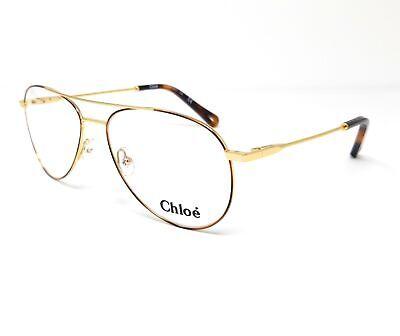 CHLOE Eyeglasses CE2137 757 Gold-Havana Aviator Women's 55x15x140
