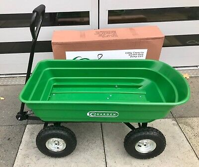 HANDY Garden Trolley Poly Body Pneumatic wheels GREAT FOR AUTUMN - FREE DELIVERY