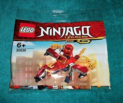 LEGO NINJAGO : Kai and Fire Dragon Polybag Set 30535 BNSIP