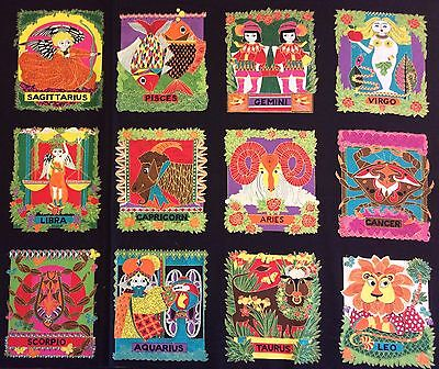 (PNL92 Astrology Zodiac Star Sign Leo Cancer Horoscope Cotton Quilt Fabric Panel)