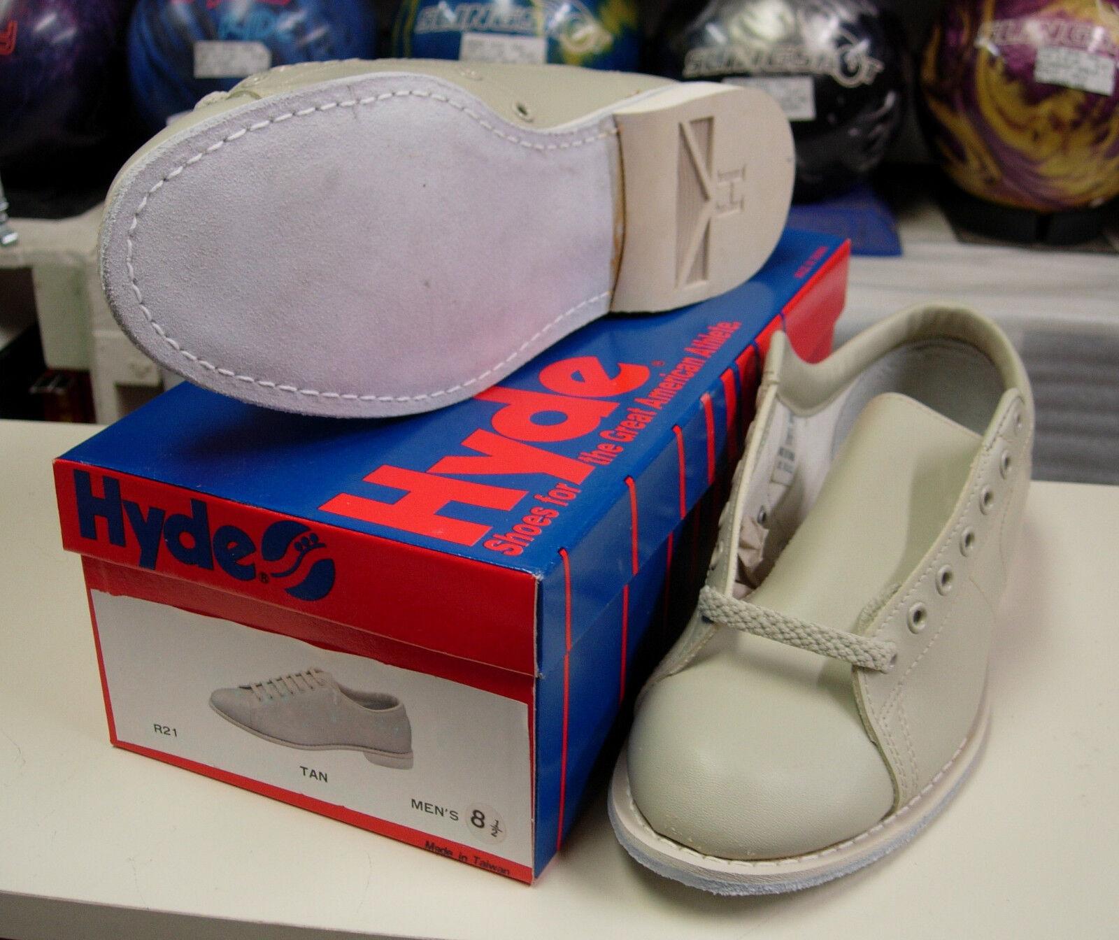8.5 Hyde R21 Traditional Vinyl Bowling Shoe Men Size 8.5m Rh/lh