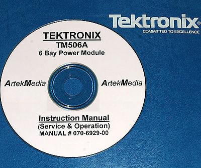 Tektronix Tm506a Instruction Ops Service Manual