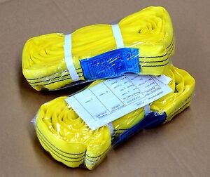 2-one-pair-of-3-TONNE-X-1-METRE-LIFTING-SLING-ROUND-WITH-TAG-NEW