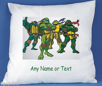 Teenage Mutant Ninja Turtles Personalisiert Luxuriöses Satin Kissenbezug
