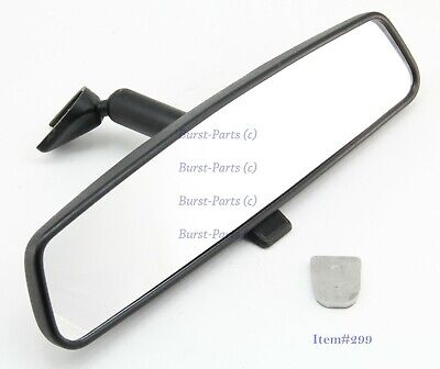 Interior Rear View Mirror Fits 1999-2018 Dodge Chrysler Plymouth RAM with Button