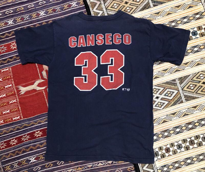 Vtg Boston Red Sox Jose Canseco # 33 1995 MLB Salem sportswear USA MADE T Shirt