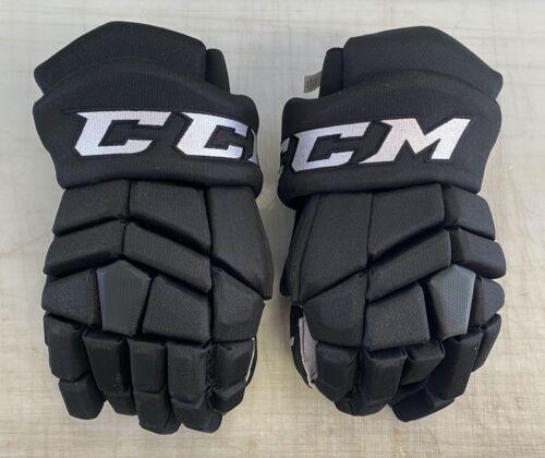 "CCM HGTK Tacks Pro Stock Hockey Gloves 15"" Black 8286"