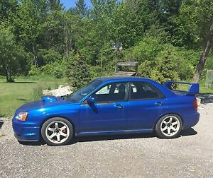 2004 SUBARU WRX - RALLY BLUE