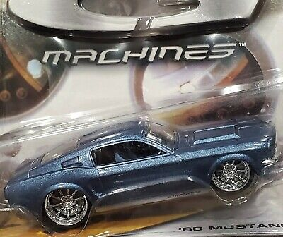 Hot Wheels 68 1968 Ford Mustang G Machines Detailed Collectible Car Met Blu