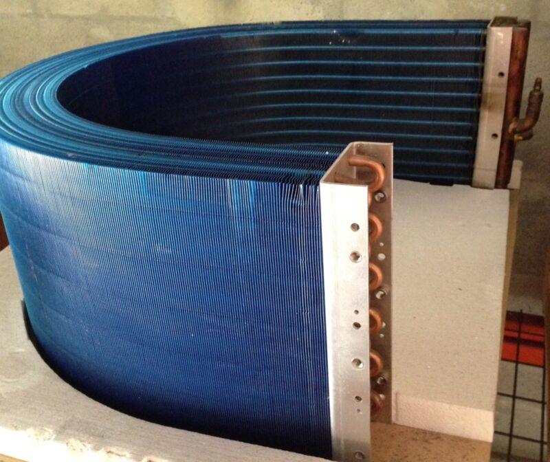 Curve Condenser Coil