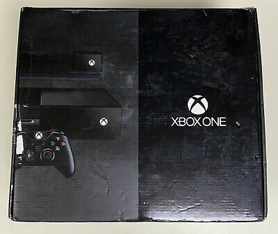 Sealed Microsoft XBOX One DAY ONE EDITION 500GB Console with Kinect Sensor