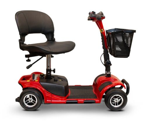 Ewheels Ew-m34 4 Wheel Mobility Scooter, Easy To Transport, Swivel Seat, Basket