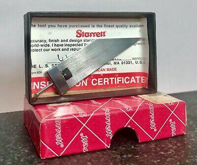 Starrett Acute Angle Attachment Universal Bevel Vernier Protractor 360 359 364