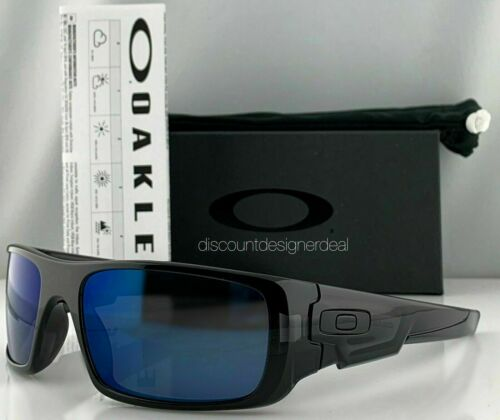 Oakley MPH Crankshaft Sunglasses OO9239-2660 Black Ink Frame W/ Ice Iridium Lens