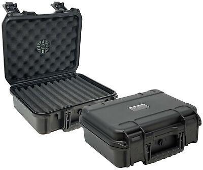 Prestige Import Group Black Cigar Safe 40 Travel Humidor