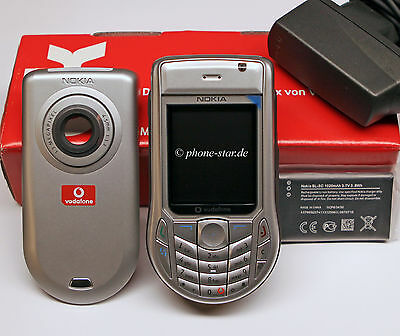 NOKIA 6630 RM-1 BUSINESS HANDY PHONE BLUETOOTH GPRS EDGE TRI-BAND KAMERA NEU NEW