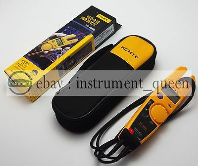 Fluke T5-1000 1000 Voltage Current Electrical Tester Soft Case Kch16